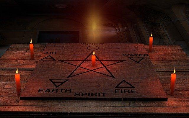 5つの重要なエレメントを示す五芒星