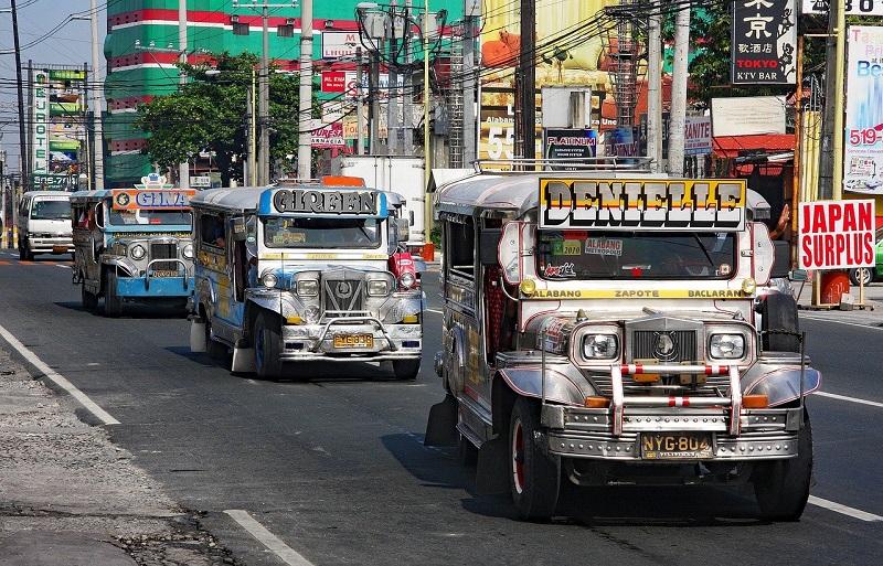 フィリピンのジープニー