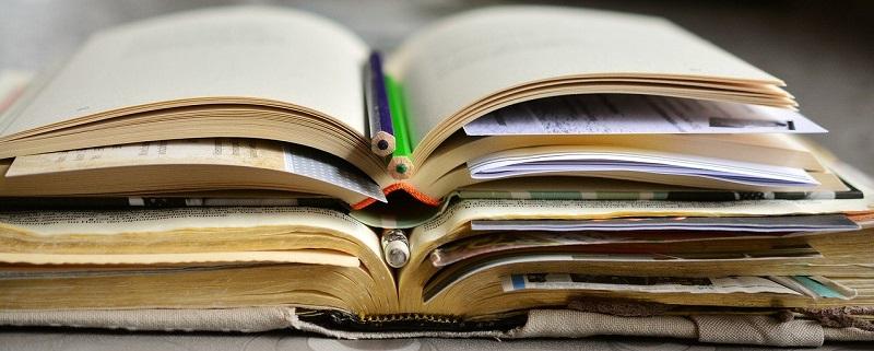 勉強している本